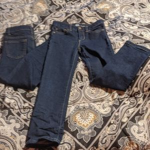 Two 👖 Jeans / girls sz. 6/